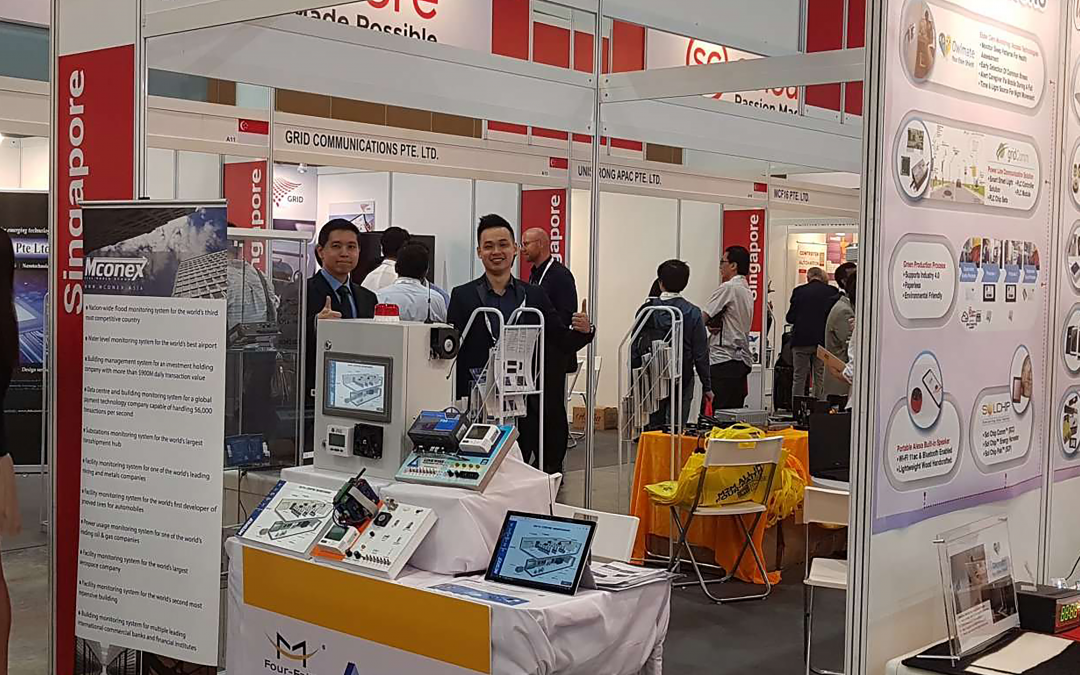 Linkwise Technology showcased its new innovative technologies at IoT Asia 2019