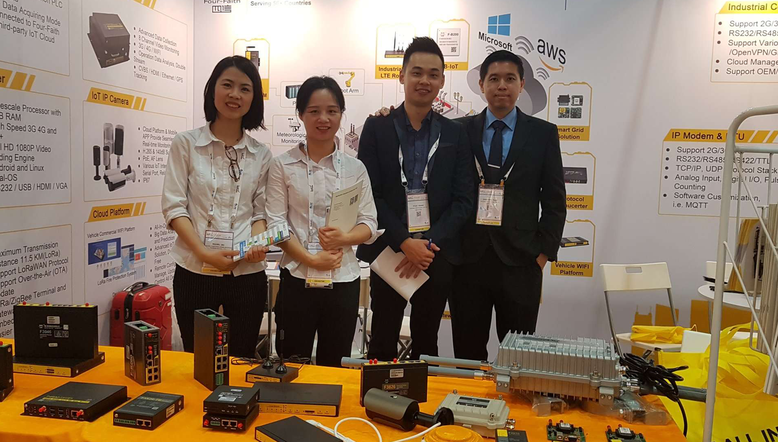 Linkwise tech with Forefaith IOT asia