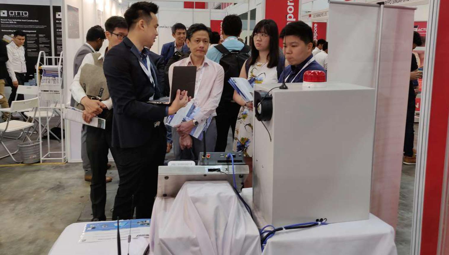 Linkwise tech Demo in IOT asia